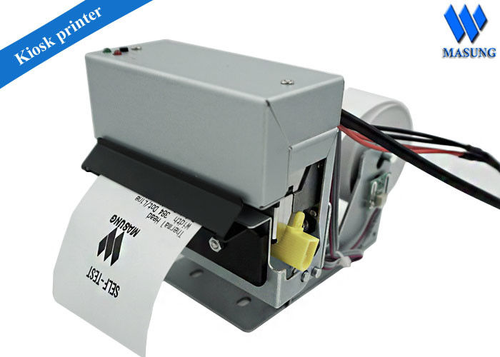 2 Inch Kiosk Thermal Printer Linux For Parking Machine , Rs232 Panel Mount Printers