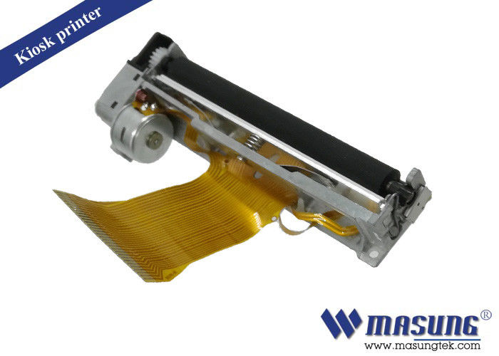 Metal Frame Ticket Printer Mechanism Easy Paper Loading For Medical Equipment