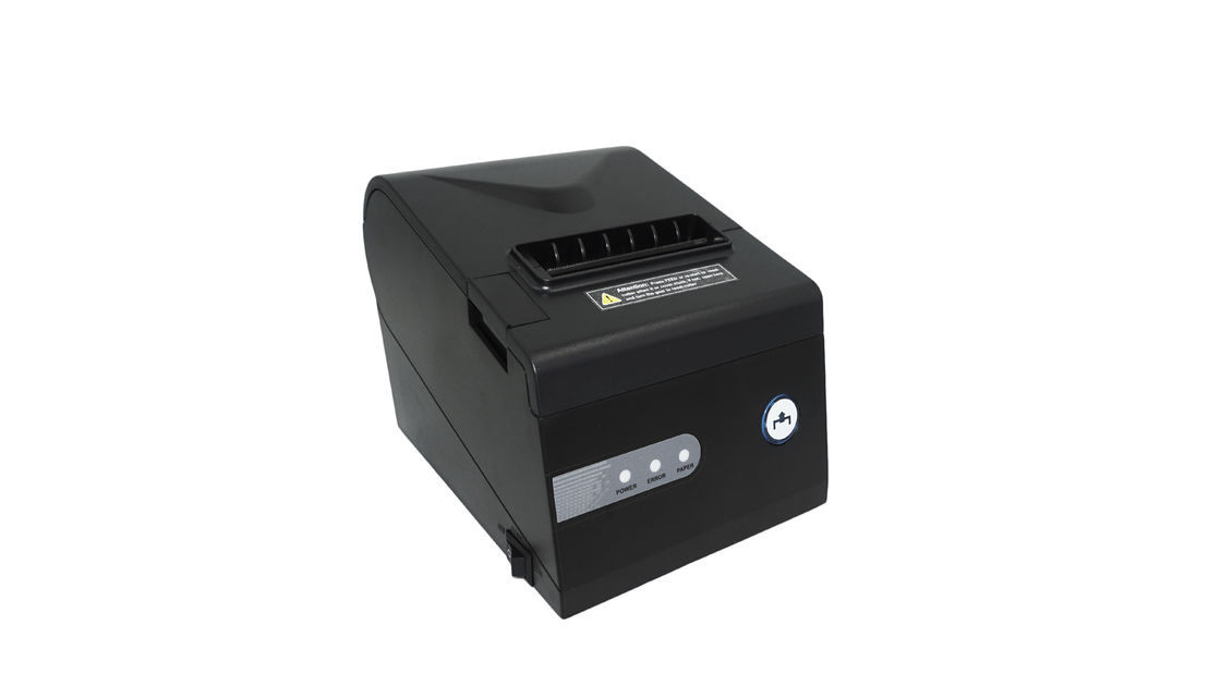 80mm Barcode POS Thermal Printer USB Interface For Restaurant With Auto Cutter