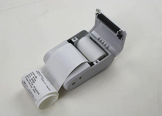 White and Black USB Portable Thermal Tablet Printer Easy Paper Loading